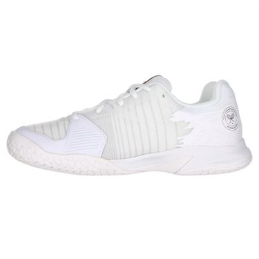 Babolat All Court Wimbledon Junior Tennis Shoe - White/White