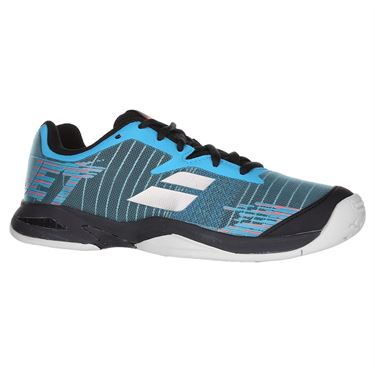 Babolat Jet All Court Junior Tennis Shoe - Dark Blue/Black