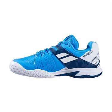 Babolat Junior Propulse All Court Tennis Shoe White/Blue Aster 32S20478 1030