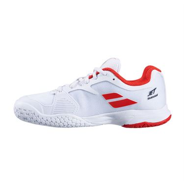 Babolat Junior Jet All Court Tennis Shoe White/White 32S20648 1000