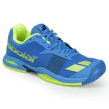Babolat Junior Jet All Court Tennis Shoe - Blue/Yellow