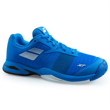Babolat Jet All Court Junior Tennis Shoe - Diva Blue/White