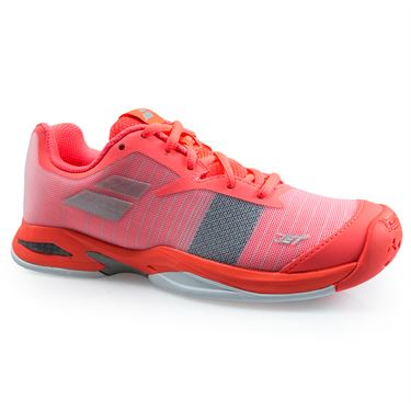 Babolat Jet All Court Junior Tennis Shoe - Fandango/Fluo Pink