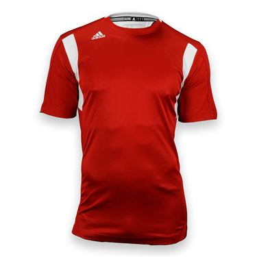 adidas Utility Short Sleeve Jersey-Univ Red