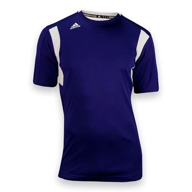 adidas Utility Short Sleeve Jersey-Coll Purple