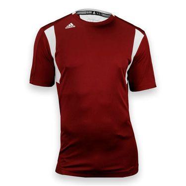 adidas Utility Short Sleeve Jersey-Cardinal