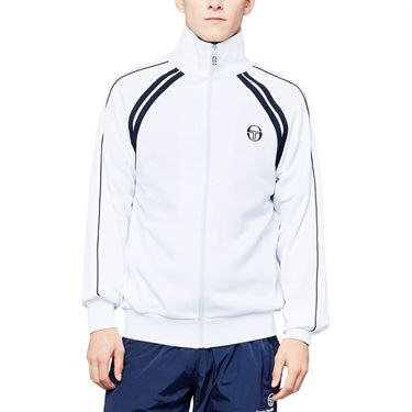 Sergio Tacchini Melbourne Ghibli Jacket Mens White/Navy 36637 000
