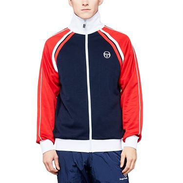 Sergio Tacchini Melbourne Ghibli Jacket Mens Navy/Red 36637 002