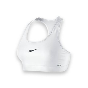 Nike Pro Bra-White