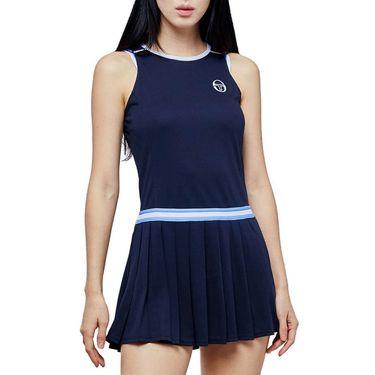 Sergio Tacchini Pliage Dress Womens Navy/White 38482 297