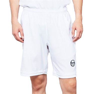 Sergio Tacchini Roland Garros Chevron Short Mens White/Navy 38495 100