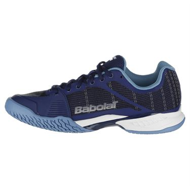 Babolat Jet Mach I Womens Tennis Shoe - Estate Blue/Silver 39S18651 4003