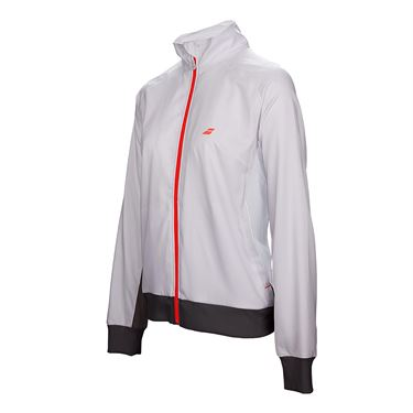 Babolat Girls Core Club Jacket - White