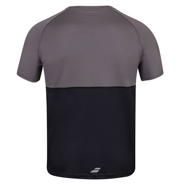Babolat Play Crew Shirt Mens Black 3MP1011 2000S