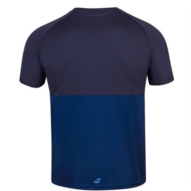 Babolat Play Crew Shirt Mens Navy Blue