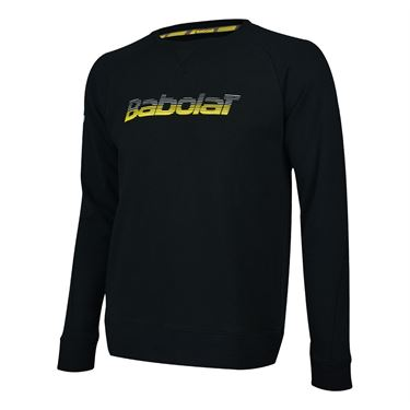 Babolat Core Sweatshirt Mens Black 3MS18042 2000