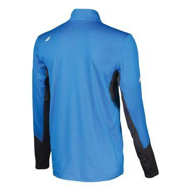 Babolat Core 1/2 Zip Pullover Mens Diva Blue/Rabbit 3MS18171 4024