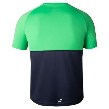 Babolat Play Crew Neck Tee Mens Peacoat/Poison 3MTA011 4050