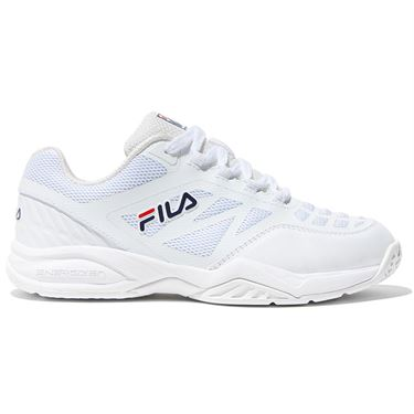 Fila Axilus Junior Tennis Shoe - White