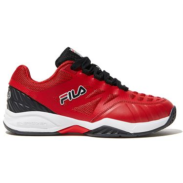 Fila Axilus Junior Tennis Shoe Red 3TM00597 602