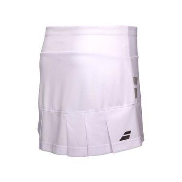 3907747416 Babolat Core Skirt - White Babolat Core Skirt - White