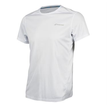 Babolat Boys Core Flag Club Crew - White