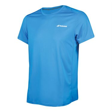 Babolat Boys Core Flag Club Crew - Diva Blue