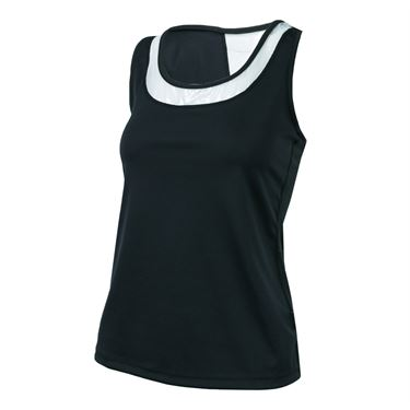 BPassionit Eclipse Vented Tank - Black/Silver