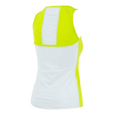 Bpassionit GI Girl Vented Tank - Chartreuse/ White
