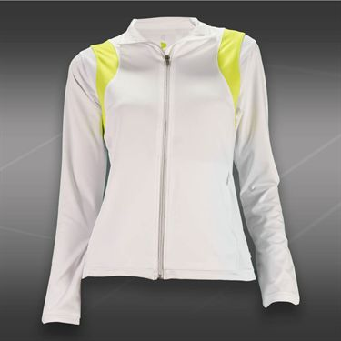 Pure Lime Zest Jacket-White/Brite Lime