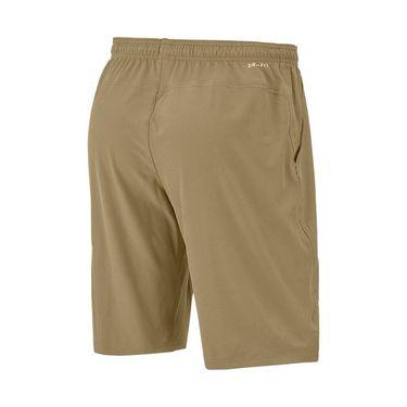 Nike Court Flex 11 inch Woven Short Mens Parachute Beige/Black 455618 297