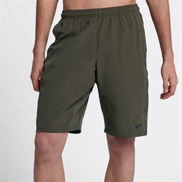 Nike Court Flex 11 Inch Short - Cargo Khaki/Black