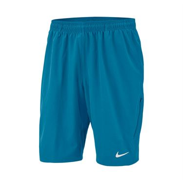 Nike Court Flex 11 inch Woven Short Mens Neo Turquooise/White 455618 425