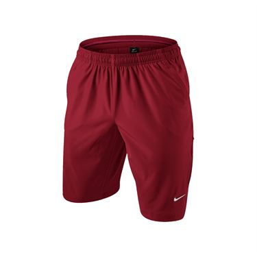Nike Court Flex 11 Inch Short - Gym Red/White