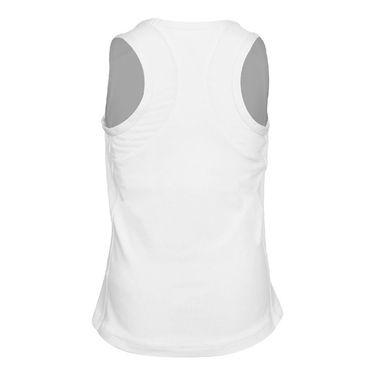 Sofibella Club Lux Girls High Neck Tank White/Diamond 4739 WHT