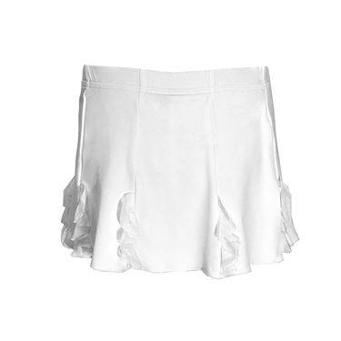 Sofibella Girls Miami Cascade Skirt - White