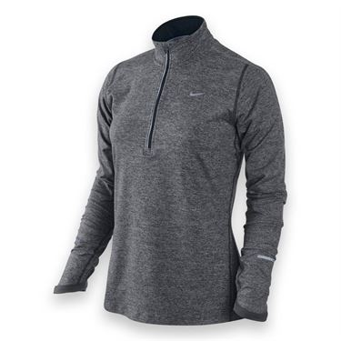 Nike Element 1/2 Zip Top-Dk Grey Heather