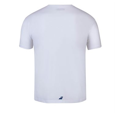 Babolat Exercise Vintage Tee Shirt Mens White/White 4MS20443 1000