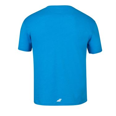 Babolat Exercise Country Italy Tee Shirt Mens Blue Aster Heather 4MS20444 4052
