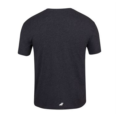 Babolat Flag Message Tee Shirt Mens Black Heather 4MS20445 2003