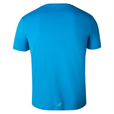 Babolat Exercise Big Babolat Tee Mens Blue Aster 4MTA017 4049