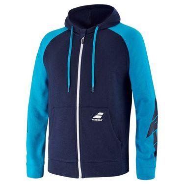 Babolat Drive Hooded Jacket Mens Drive Blue 4US21121X 4086