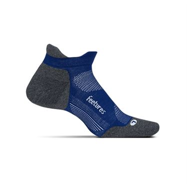 Feetures Elite Max Cushion No Show Tab Sock - Sapphire