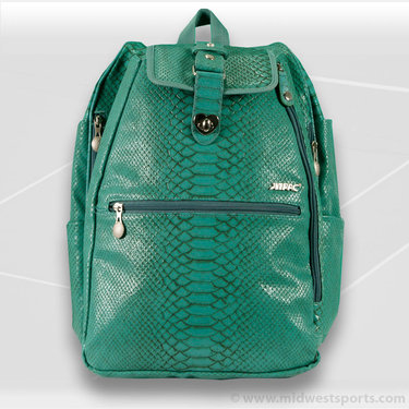 Jet Pac Reptilian Teal Cooljet Tennis Backpack