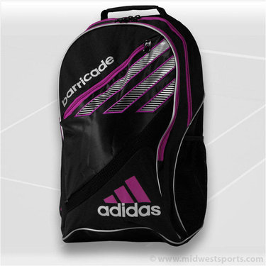 adidas Barricade III Tour Backpack Tennis Bag 5126624