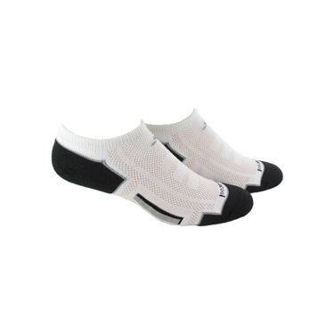 adidas Clima Cool No Show Sock (2 Pack) - White/Black