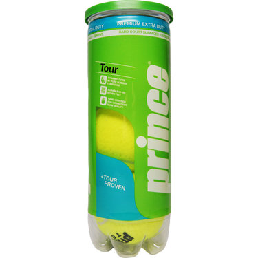 Prince Tour Extra Duty Tennis Balls (Case)