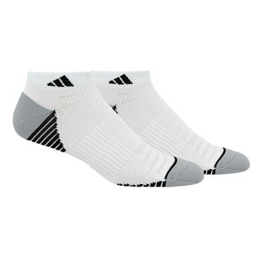 adidas Superlite Speed Mesh Low Cut Sock (2 Pack) -  White/Black