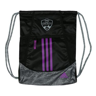 adidas W&S Open Alliance II Sack Pack - Black/Onix/Shock Purple