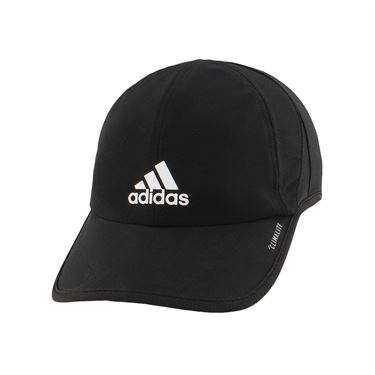adidas Mens SuperLite Hat - Black/White